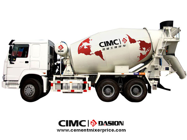 concrete mixer truck with drum
