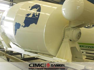 8-18CBM concrete mixer drums