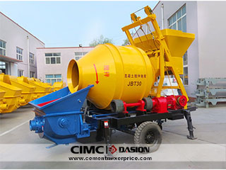 Portable cement pump